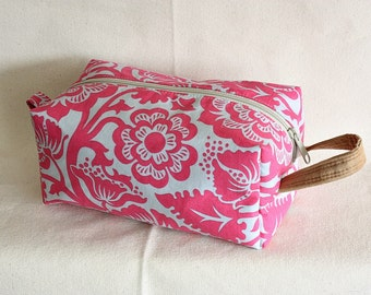 Floral medium toiletry bag/  pouch/ travel kit/ - ready