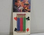 Vintage Package of Bridge Pencils