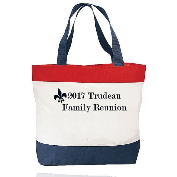 Large Summer Beach Totebag, Family Reunion Bags, Beach Tote, Wedding Gifts, Bridesmaid Gifts, 4th of July Bag, Patriotic Gift, Barbeque Bag