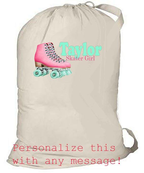 Large Laundry Bag, Summer Camp Bag, College Grad Gift, Grad College Laundry Bag, Girl's Summer Camp Bag, grad gift, birthday gift, beach bag