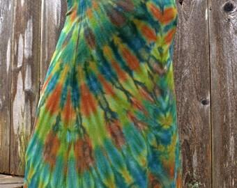 Roots - Tie Dye Maxi Skirt, long skirt, party skirt, festival skirt.