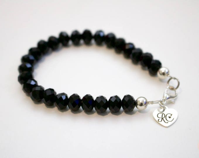 RC Signature Bracelet in Timeless Black [Smaller].