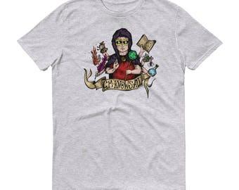 Original Art Tshirt - GM Knows All | DnD | Pathfinder | GM | Dungeons and Dragons | DM