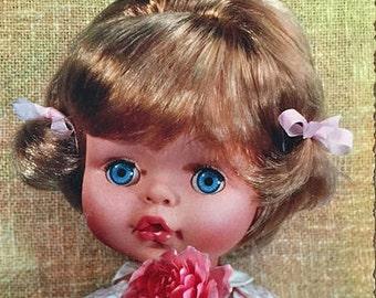Vintage Bambola Doll  Cecco Postcard Albertina