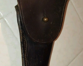 WWI US Army Colt 911 Leather Holster Dated / Marked G & K 1918 W.J.D