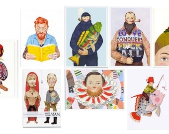 Any 5 of these greetings cards