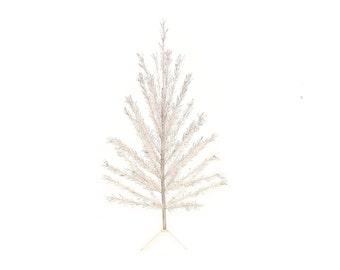 Vintage 6 ft Aluminum Christmas Tree