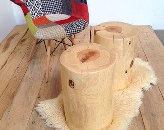 Tree Stump Table Outdoor Sealer Trunk Seat