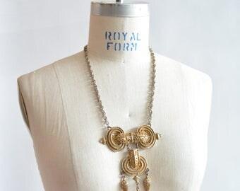 Vintage 1970s BRUTALIST neck piece