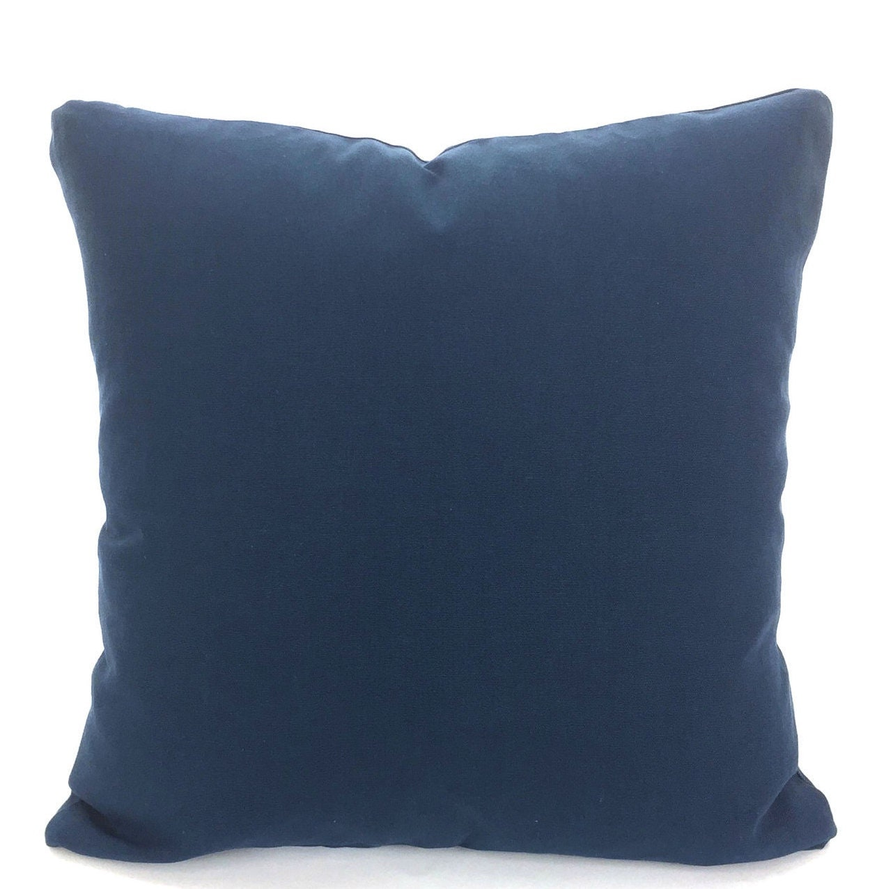 Decorative Pillow Wraps : Solid Navy Blue Pillow Covers Decorative Throw Pillows