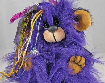 Violet a 5.5 inch collectable OOAK Artist Bear by Bears of Bath