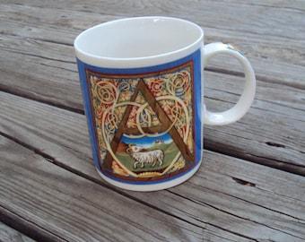 Aries March 21 – April 19, Astrology, Chaleur Zodiac by Mara Bosnak Mug Cup