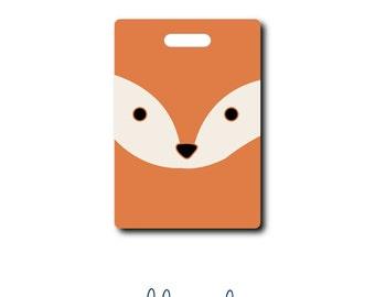 Fox...Personalized Luggage Bag Tag