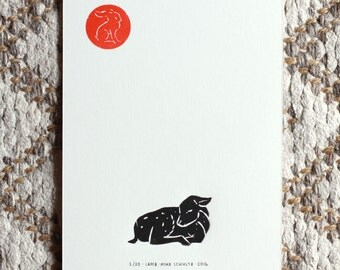 Send a Hope Print! - Lamb
