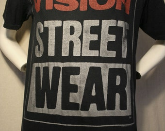 1987 Vision Street Wear skateboarding Powell Peralta Bones Brigade era like new collector t-shirt - men's sz S/M