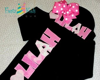 Newborn clothing, baby girl clothes, coming home outfit girl, personalized baby gifts, baby keepsake