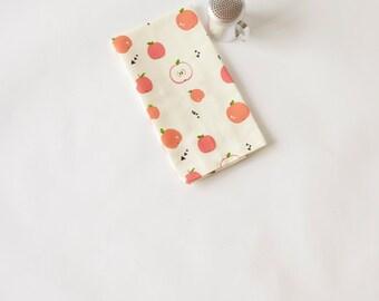 Cotton/Linen Dishtowel Modern Apples