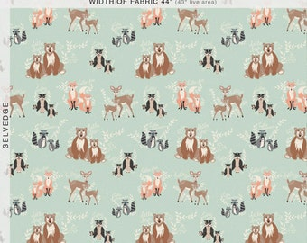 Oh Hello Meadow from the Hello Bear Collection 1 Yard