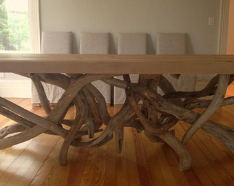 Barnwood Tangle Table