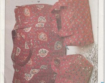 Duffle Bag Pattern Tote Bag Zipper  Uncut Vintage 1985 Butterick 4105