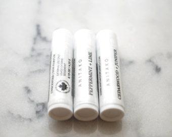 SAMPLE // Mini Deodorant Sampler - Deodorizing Essential Oil Blend, Trial Size, Extra Strength, Aluminum Free