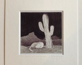 The Coyote and the Cactus