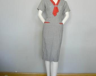 1950's Sailor Day Dress