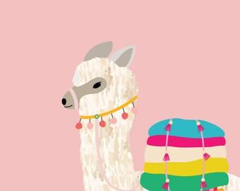 11x14 printable download llama print
