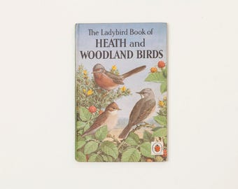The Ladybird Book of Heath and Woodland Birds - Vintage Ladybird Book, Series 536, 1960s