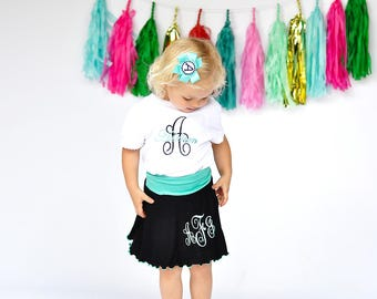 Toddler Girl Clothes Personalized Baby Girl Clothes Baby Outfit Newborn Girl Personalized Baby Gifts Baby Girl Big Sister Little Sister