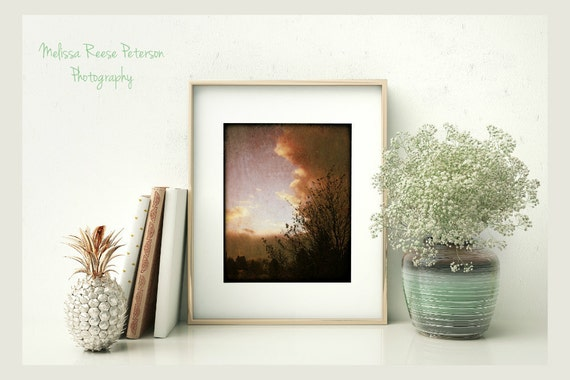 Stormy Weather, Nature Photography, 8x10 + More, Prints, Clouds, Sky, Trees, Moody, Storm, Home Decor, Wall Art
