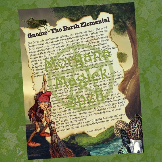 Gnome the Earth Elemental Spirit