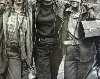 Women Female Miners after a Day of Work Photo Postcard Photographed by Earl Dotter Featuring Women doing a Man's Job in the 1980s