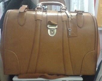 Vintage Italian handmade Leather bag
