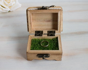 Proposal Ring Box Will You Marry Me Engagement Ring Box Wedding Ring Bearer Box Engraved Wedding Box Wedding Ring Box Ring Holder Ring Box