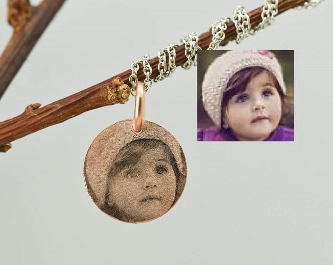 Photo Necklace, Photo Jewelry, Fingerprint Necklace, Fingerprint Jewelry, Personalized Necklace, Handwriting Necklace, Handwriting Jewelry