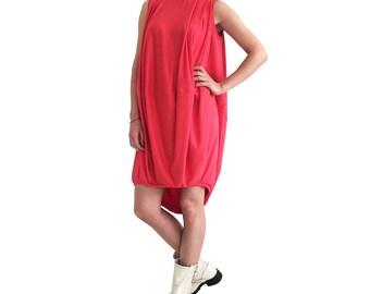 Loose midi dress/ Oversize dress/ Jersey tunic dress/ xxxl dress/ Plus size dress/ Maternity dress/ Loose casual dress/ xl xxl dress SHELL