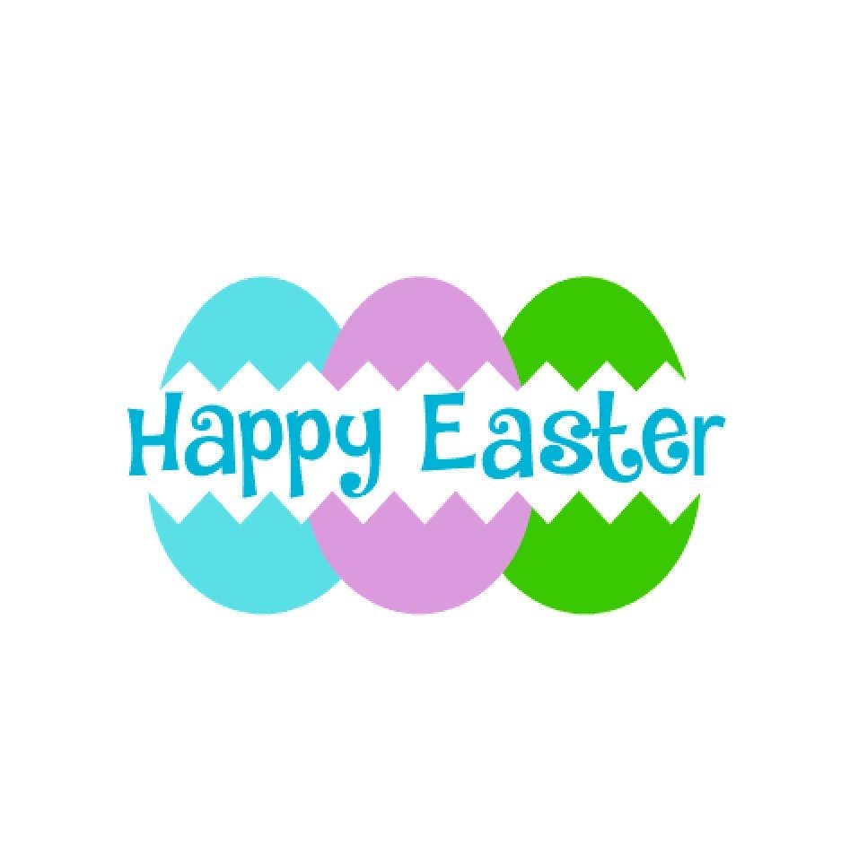 Happy Easter Svg Easter Svg Easter Eggs Svg Easter Basket