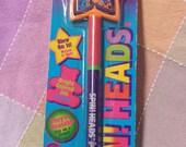 Vintage 1989 Lisa Frank Spin! Heads pen NIP