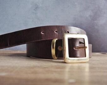 Custom Name Leather Belt Personalised Brown Leather Belt Custom Groomsmen belt Customised wedding gift Fathers Day leather belt wedding belt