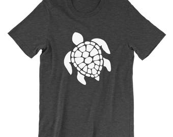 Turtle shirt, Graphic Tee, Sea Turtle Shirt, Marine Life, Animal Lover Shirt, Beach T-Shirt, Workout Shirt, Funny Gym Shirt, Cute Turtle