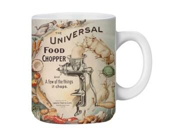Universal Food Chopper Retro Ad Mug