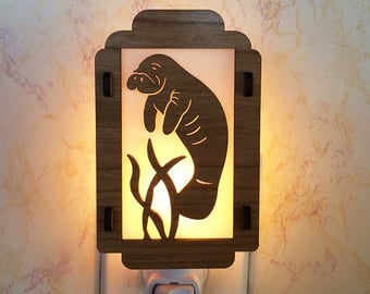 Manatee Night Light