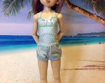 Vintage Style swim suit fits Kaye Wiggs MSD