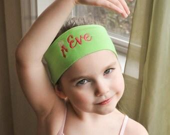 Ballet Headband, Ballerina Headband, Dance Headband, Embroidered Headband, Embroidered Dance Headband, Embroidered Ballet Headband