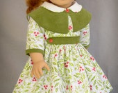 Cape Collar Christmas for 18 Inch Dolls