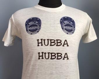 70s Vintage Hubba Hubba T-Shirt - SMALL