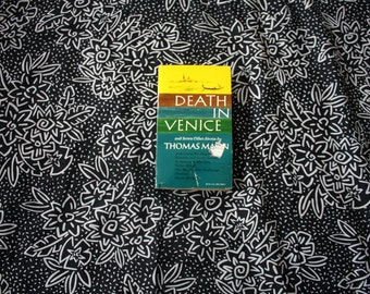 Death In Venice and 7 Other Stories by Thomas Mann. 1963 Vintage Paperback Book. Great condition. Never read. Literary Fiction Classic.