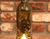 Lantern Butterfly Butterflys - (Stand & Candle Included) Valentine, Eco Friendly, Hostess Gift, Wine Party, Garden Decorations