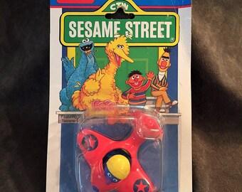 Sesame Street Muppets Die Cast Metal Grover's Airplane by Playskool 1987